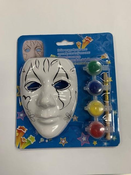 Hand Painted Ceramic Mask - Jouets LOL Toys