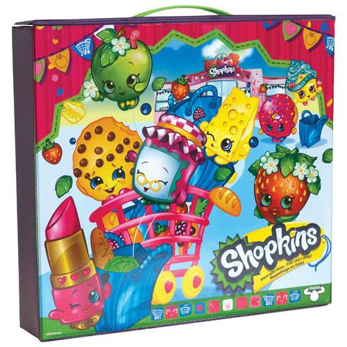 Shopkins Vinyl Carrying Case - Jouets LOL Toys