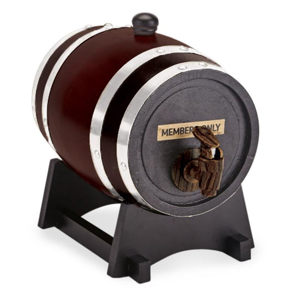 Members Only Wooden Beer Barrel - Jouets LOL Toys