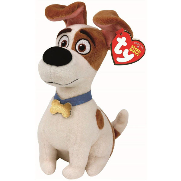 14d355b5097 TY Beanie Babies Secret Life of Pets Dog Max (Small) - Jouets LOL Toys