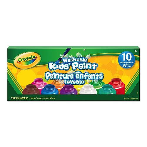 Crayola Washable Kids' Paint - Jouets LOL Toys