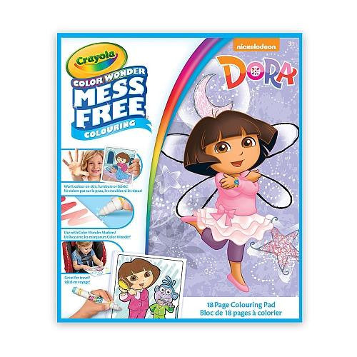 Dora Mess Free Coloring Book Jouets Lol Toys