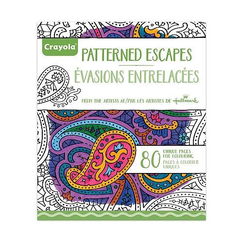 Crayola Adult Coloring Book Pattern Escape-Jouets LOL Toys