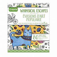 Crayola Adult Colouring Book Whimsical Escape-Jouets LOL Toys
