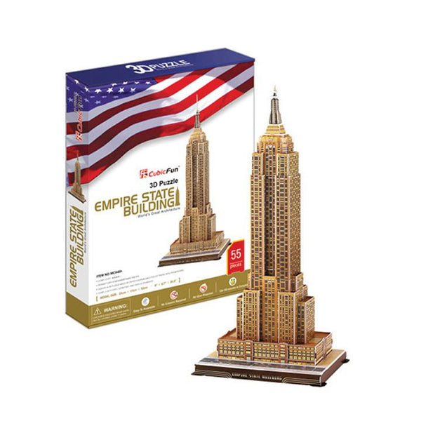 3D Puzzle Empire State Building - Jouets LOL Toys