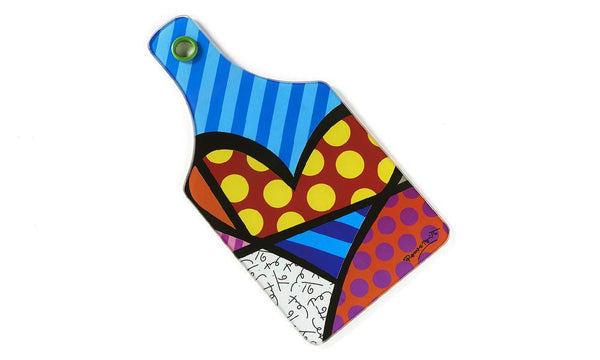 Britto Cutting Board Heart - Jouets LOL Toys