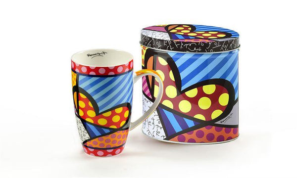Britto Mug in Tin Heart - Jouets LOL Toys