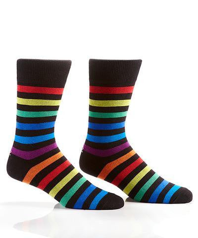 Yo Sox Men Socks Multicolored Stripes - Jouets LOL Toys