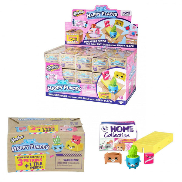 Shopkins Happy Places 3pk - Jouets LOL Toys