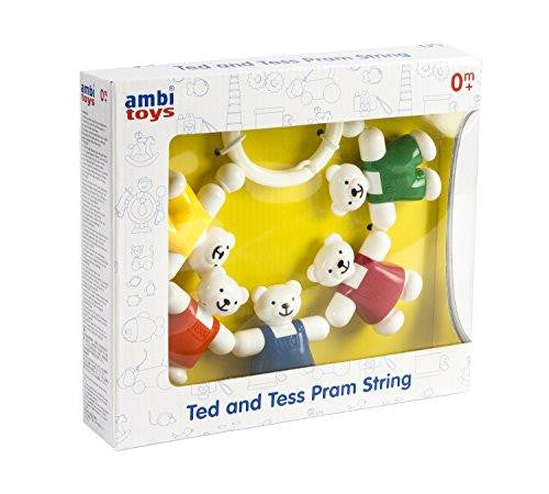 Ambi Toys TED and TESS Pram String - Jouets LOL Toys