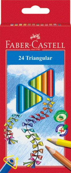 Faber Castell Triangular Color Pencils - Jouets LOL Toys