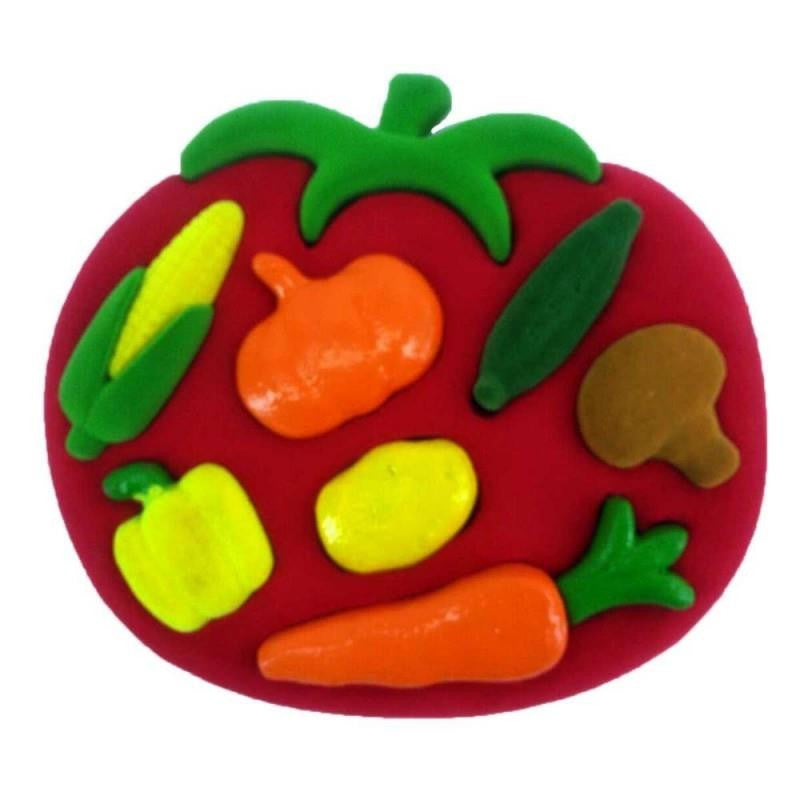 Rubbabu 3D Shape and Sort Vegetables - Jouets LOL Toys