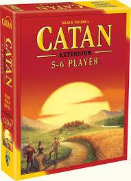 Catan 5th ED 5-6 Player Extension Jouets LOL Toys