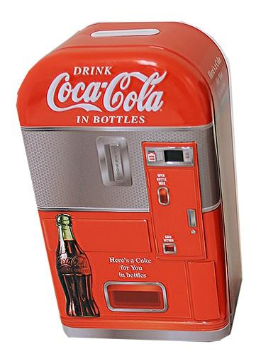 Coca-Cola Bank Vending Machine (Assorted) - Jouets LOL Toys