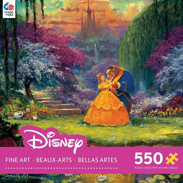 Beauty and the Beast - Garden Waltz - Puzzle 550 Pcs - Jouets LOL Toys
