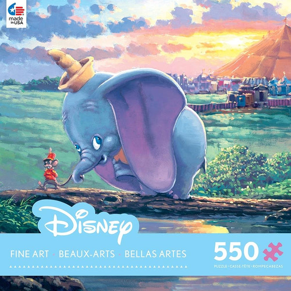 Dumbo - Unlikely Friends - Puzzle 550 Pcs - Jouets LOL Toys