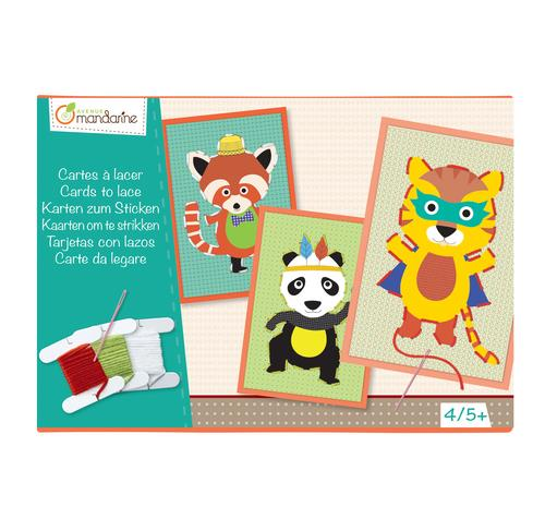 Avenue Mandarine Cards To Lace - Jouets LOL Toys