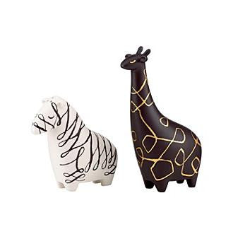 Kate Spade Zebra And Giraffe Salt And Pepper Set - Jouets LOL Toys