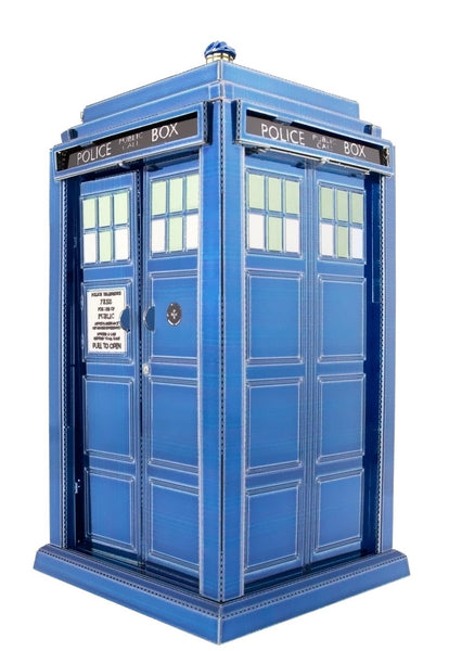 Doctor Who Tardis 3D Metal Model - Jouets LOL Toys