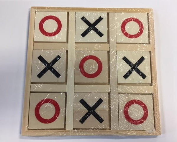 Wooden Tic Tac Toe - Jouets LOL Toys