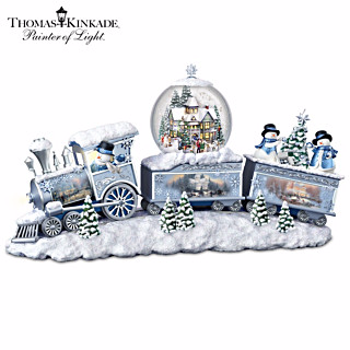 Bradford Exchange TK Snowfall Express Train - Jouets LOL Toys