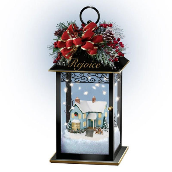 Thomas Kinkade - Holiday Lantern Rejoice - Jouets LOL Toys