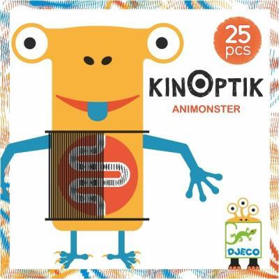 Djeco Kinoptik Card Game 26 pcs - Jouets LOL Toys