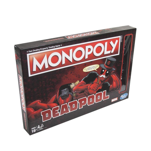 Monopoly Deadpool Edition - Jouets LOL Toys