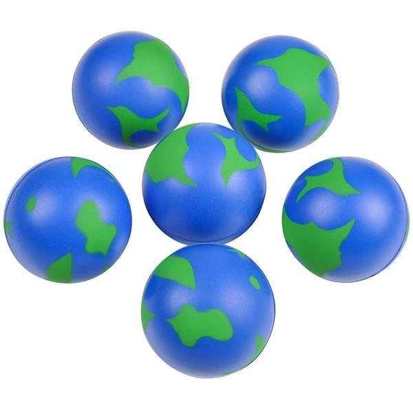 Stress Ball Earth - Jouets LOL Toys