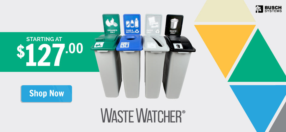 Waste Watcher Series Containers