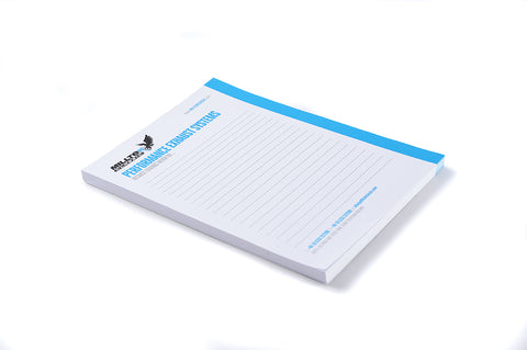 Milltek Classic Note Pad (A5 Size Pack of 3)