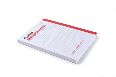 Milltek Sport Note Pad (A5 Size Pack of 3)