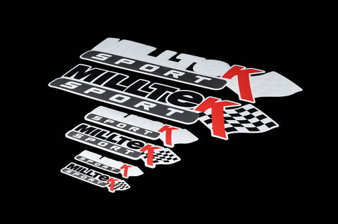 Milltek Sport Sticker Pack