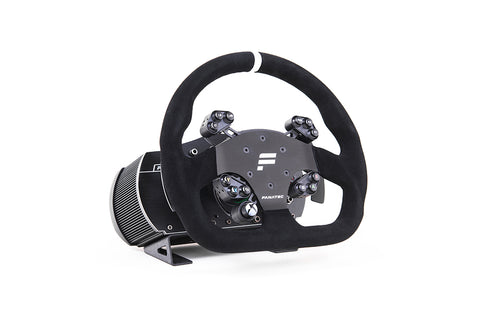 Fanatec Clubsport V2.5 Wheelbase, Universal Wheel Hub and GT Wheel Rim