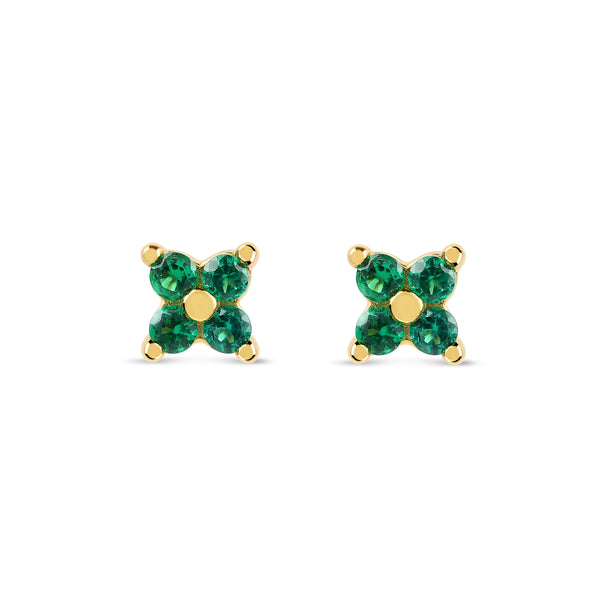 Freya Flower Studs | Made Different Co | Singapore Personalised Jewellery