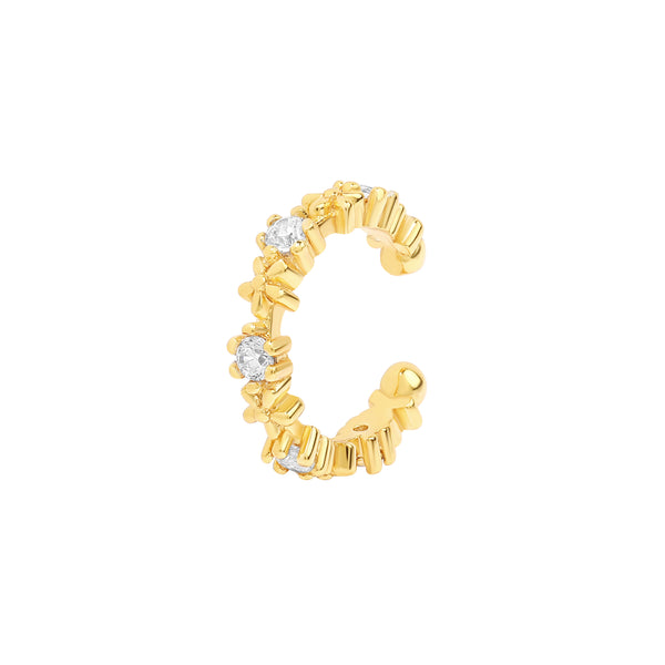 Alletta Blossom Cuff | Made Different Co | Singapore Personalised Jewellery