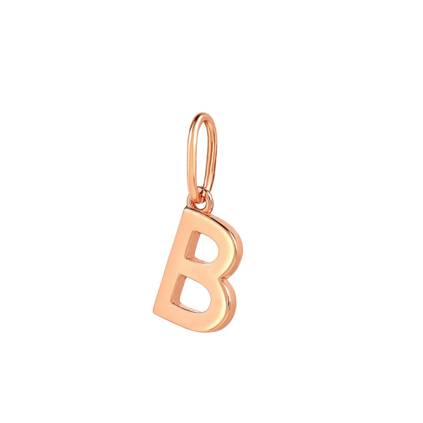 Initial Charm Pendant