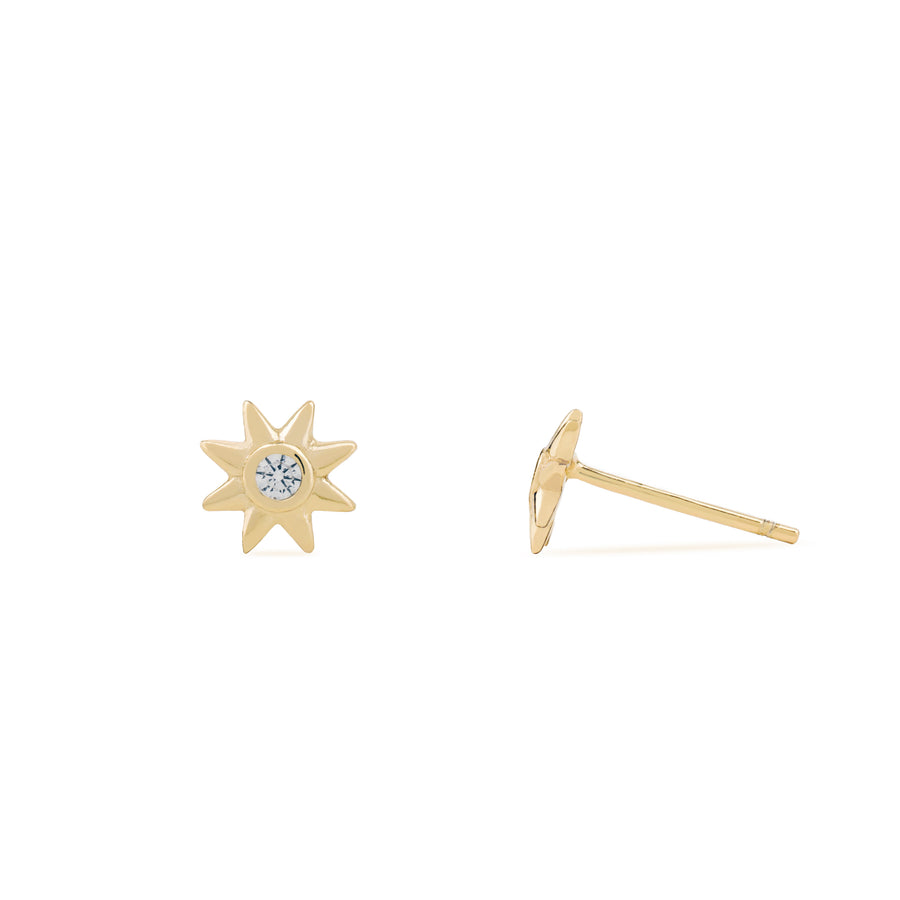 Altair Starburst Studs - Made Different Co Personalised Jewellery