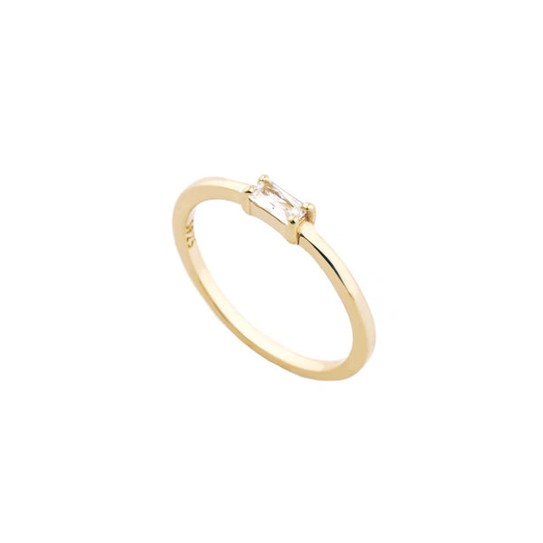 Odela Baguette Ring | Made Different Co | Singapore Personalised Jewellery