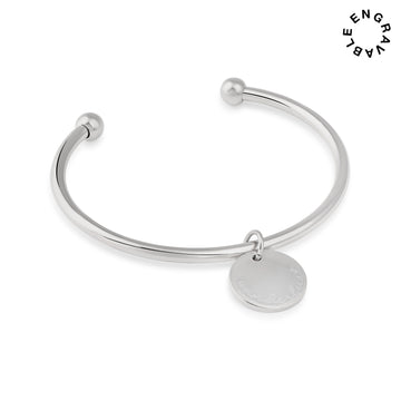 Belva Cuff Bangle - Made Different Co Personalised Jewellery