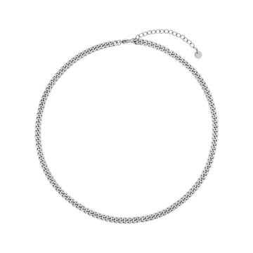 Cele Curb Chain Necklace