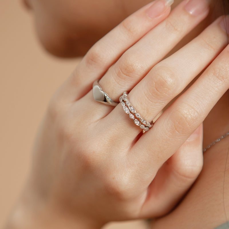 Lumi Sparkle Ring | Made Different Co | Singapore Personalised Jewellery