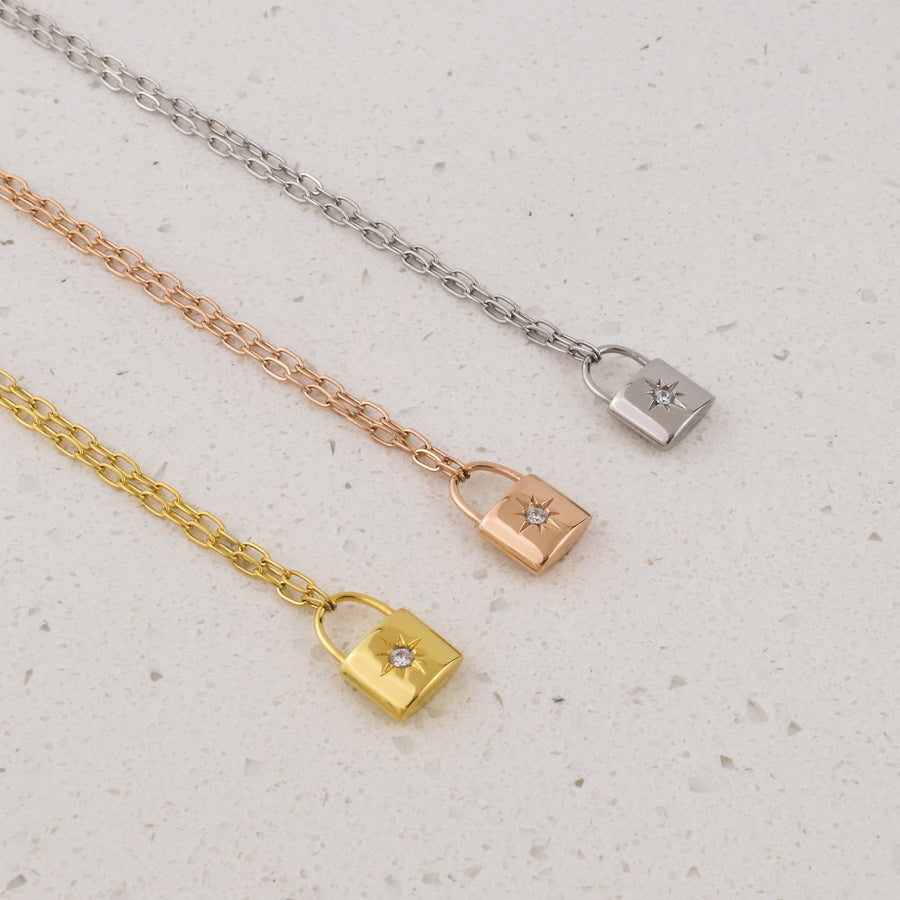 Loyalty Lock Necklace - Made Different Co Indonesia