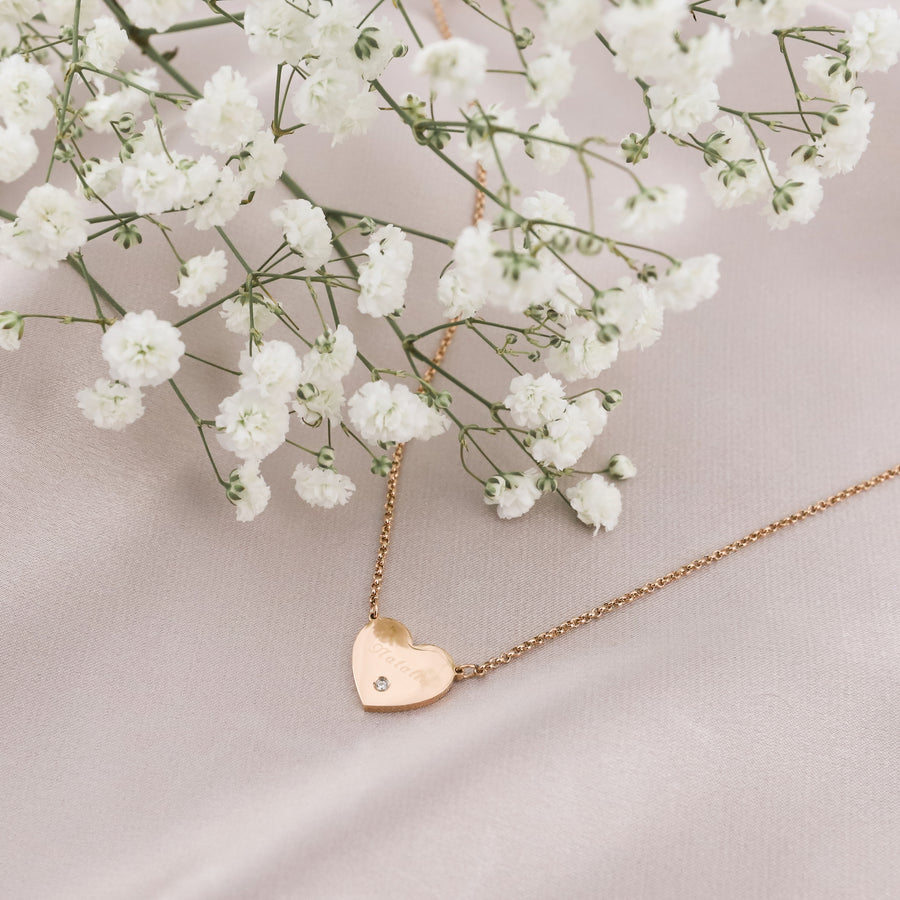 Larae Heart Necklace
