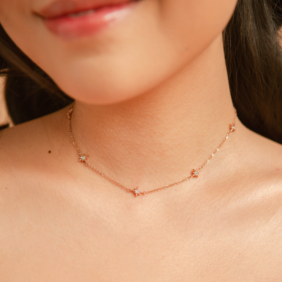 Lively Starburst Choker - Made Different Co Indonesia