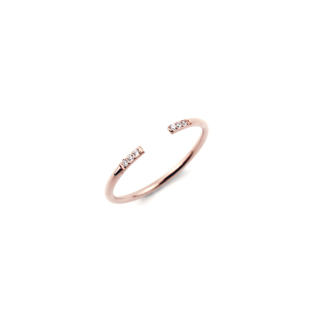 Karla Cuff Ring - MADEDIFFERENTCO PERSONALISED JEWELRY