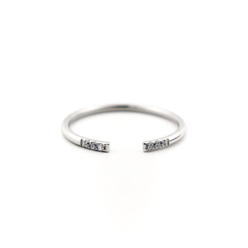 Karla Cuff Ring | Made Different Co | Singapore Personalised Jewellery