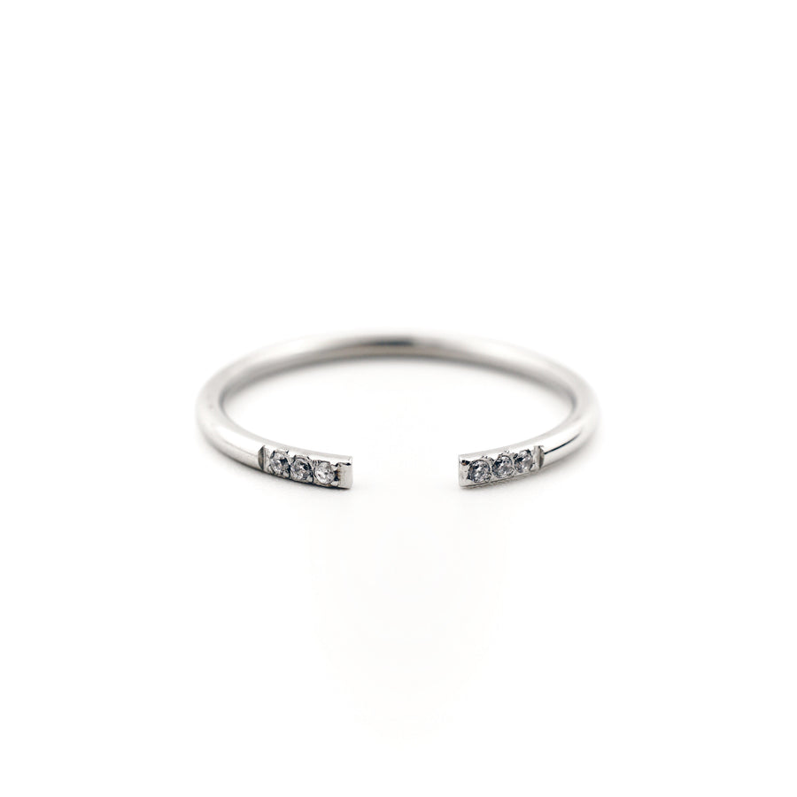 Karla Cuff Ring - Made Different Co Personalised Jewellery