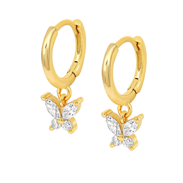 MAGICAL YOU: Kira Butterfly Earrings