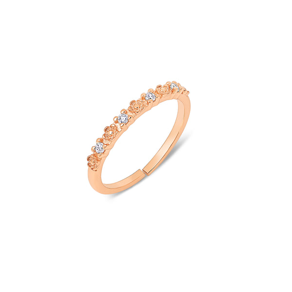 Luna Blossom Ring | Made Different Co | Singapore Personalised Jewellery
